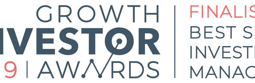 Finalist in annual Growth Investor Awards for Best SEIS Investment Manager