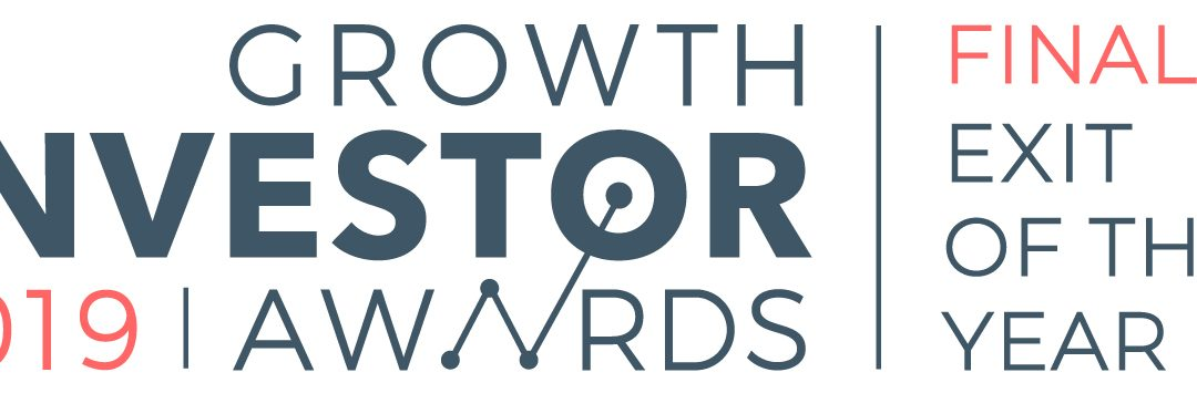 Finalist in annual Growth Investor Awards for Exit of the Year